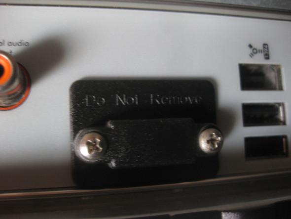 Gesperrter Monitoranschluss - (Computer, grafikarte)