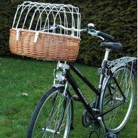 Hunde Fahrradkorb mit Schutzgitter - (Fahrrad, Hundefahrradkorb)
