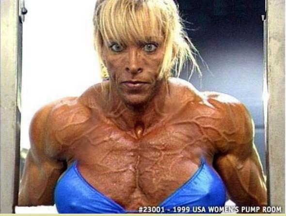 Muskelfrau 1 - (Liebe, Frauen, Menschen)