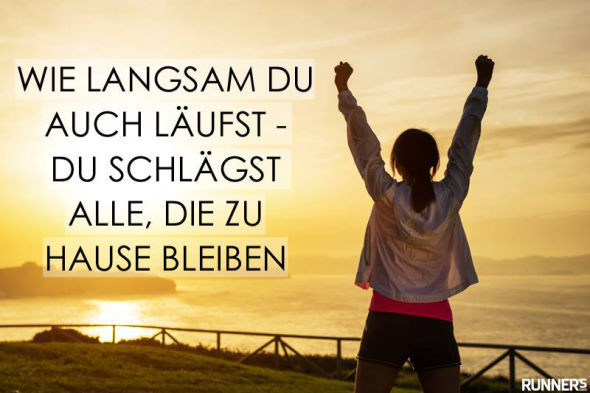 - (Sport, joggen)