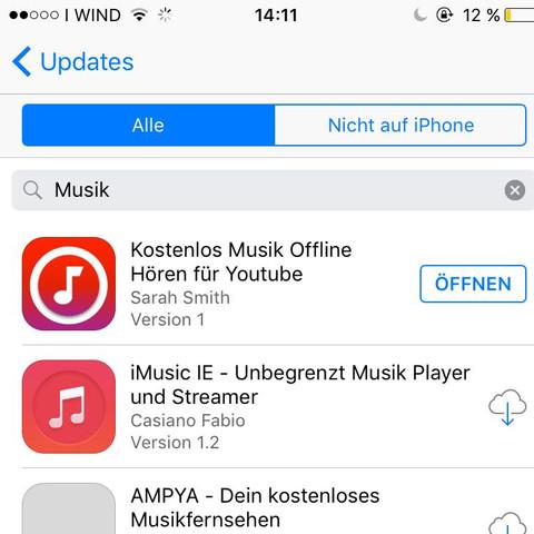 Die 1. App - (Musik, App)