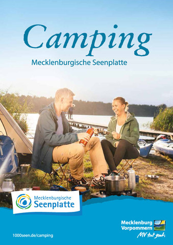 Camping-Broschüre - (Urlaub, Camping, Wohnwagen)
