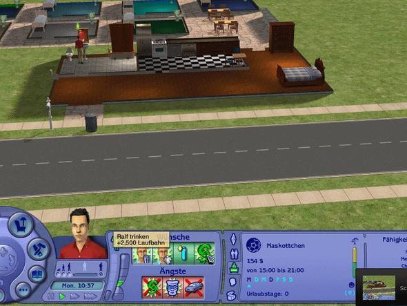Screenshot (Der Polizist heißt Ralf) - (Beziehung, Sims 2)