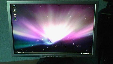 Bild vom bildschirm - (Monitor, Lautsprecher)