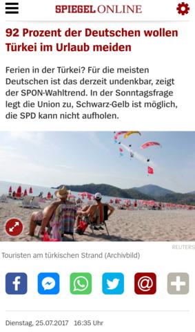 Spiegel - (Urlaub, Türkei, antalya)