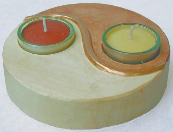 Schnitzvorlage Yin und Yang, vorgefräster Holzrohling aus Linde - (Schnitzen, yin yang)