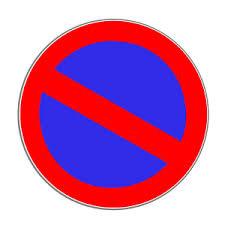 Zeichen 286 - eingeschränktes Halteverbot - (Verkehrsrecht, StVO)