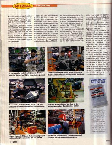 MOT-Spezial- Autoproduktion - (Technik, Auto, Finanzen)