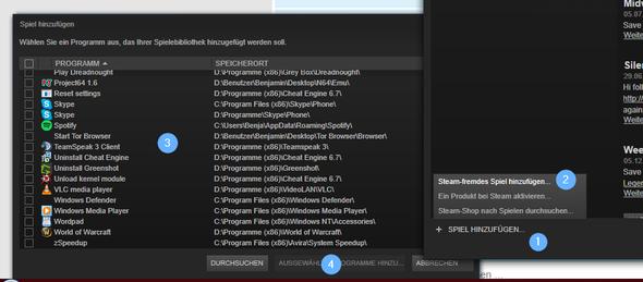 - (Computer, Steam, Installation)