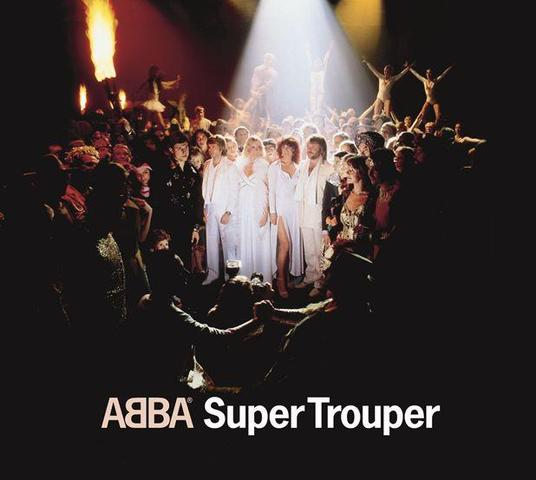 ABBA Album Super Trouper aus dem Jahre 1980 - (Lied, Liedersuche, ABBA)