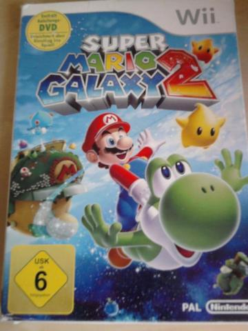 Super Mario Galaxy 2 Verpackung - (Wii, Multiplayer)