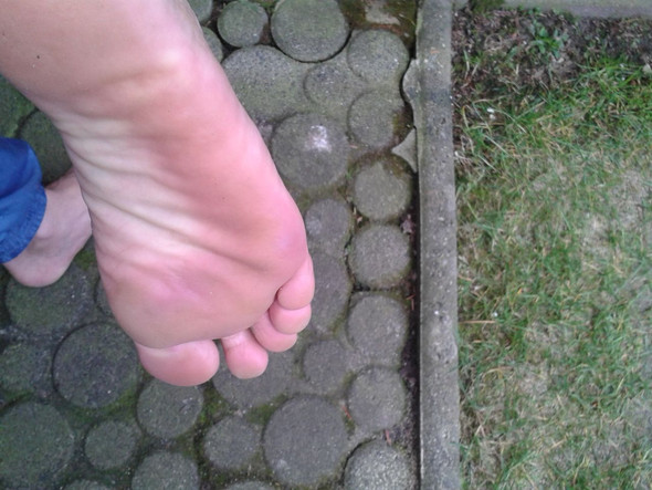 meine Fußsohle - (Gesundheit und Medizin, Hornhaut, Fußpflege)