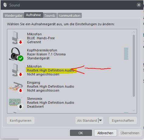 Bild 5 (Aufnahmegeräte) - (PC, Technik, Headset)