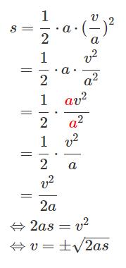 Rechenweg - (Mathematik, Physik)