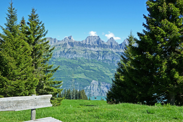 Am Flumser See, Schweiz - (Urlaub, Reise, Meer)