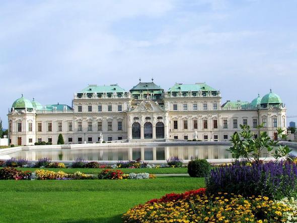Belvedere Wien..wunderschön - (Österreich, Wien, ösis)