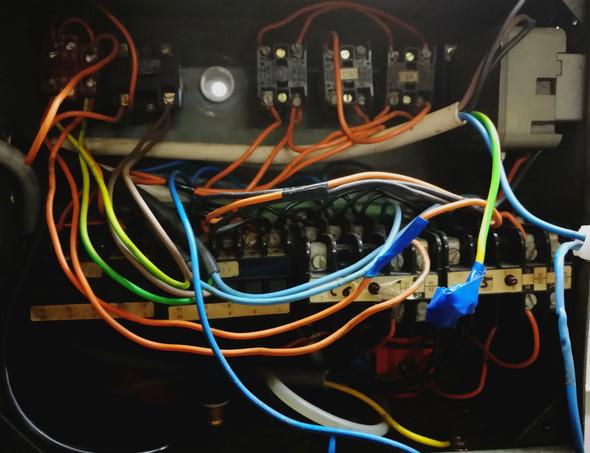 So sieht es im Schaltkasten aus - (Technik, Technologie, Elektrik)