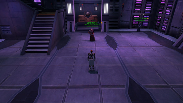 Ausbilder für den Sith-Inquisitor - (Star Wars, the old republic, sSSi)