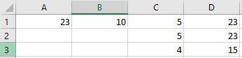 - (programmieren, Excel, Formel)