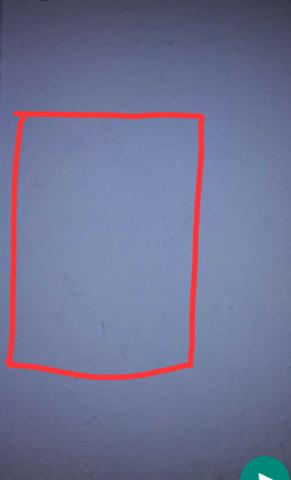 Hier ein Bild von der Wand wo und wie groß ca. der Hohlraum ist - (Wand, Hohlraum)