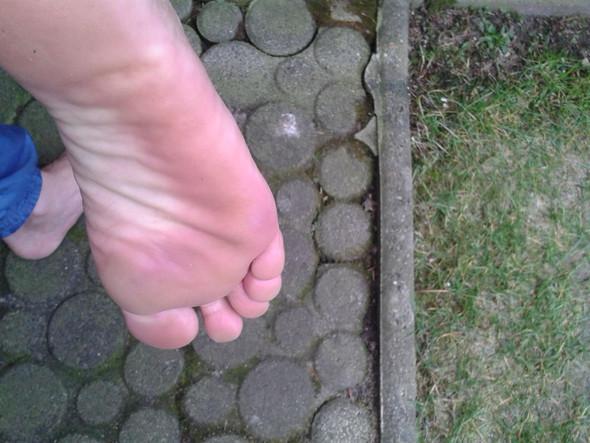 Meine Fußsohle mit gut durchbluteter Lederhaut - (Sex, Freundschaft, Alkohol)