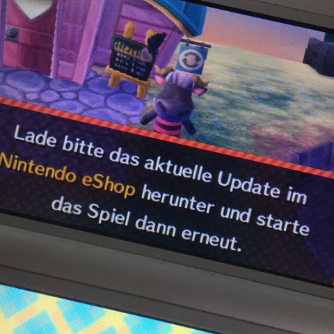 """Besitzer von """"Animal Crossing™: New Leaf"""" darf spielen ausgeschlossen werden. - (Gaming, Nintendo, Animal-Crossing)"""