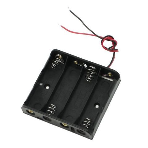Hier einmal die Halterung für 4 aa Batterien  - (Computer, Handy, Technik)