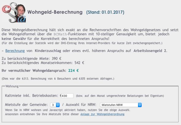 Bild1 - (Wohngeld, FSJ, Wohngeld-Rechner)