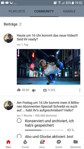YoutubeCommunity Umfrage Bild und Text wie geht das - (Youtube, Community)
