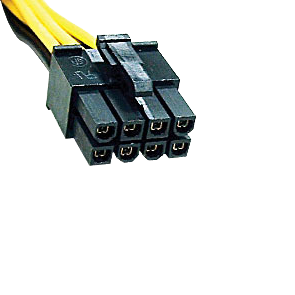 8-Pin Connector - (cpu, Stromanschluß)