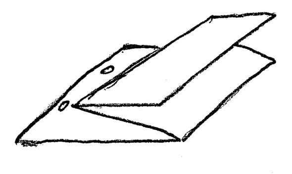 Wie A3 Oder Längliches A4 Blatt Empfindlich In Praktikumsmappe