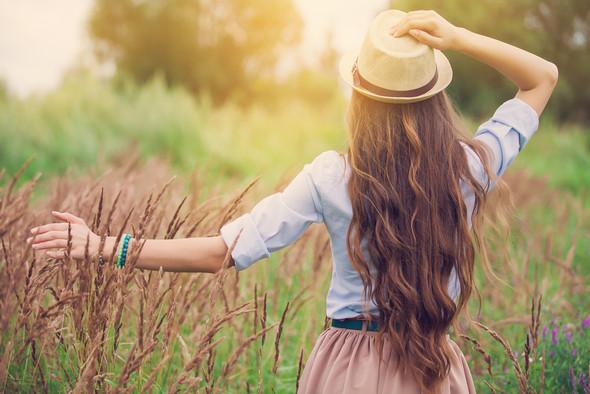 schöne Haare mit Arganöl - (Haare, Shampoo, Haarpflege)