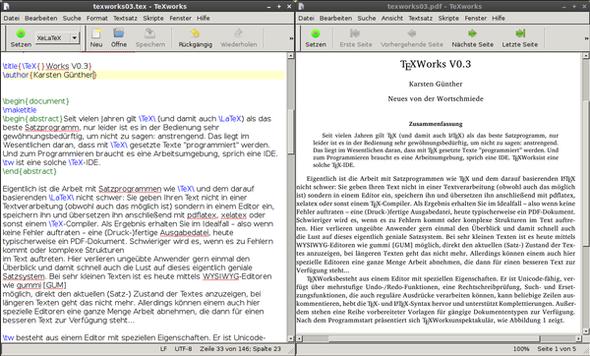 texworks - (Software, PDF, Druckerei)