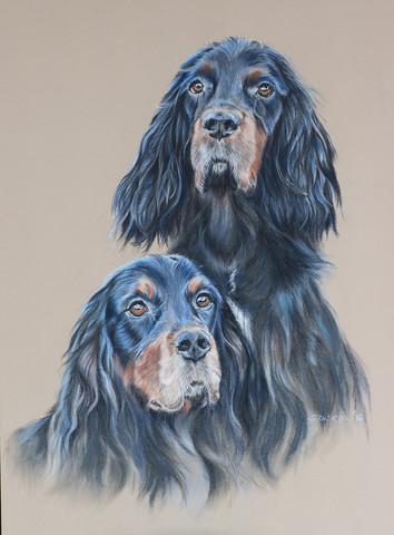 - (Tiere, Hund, Kunst)