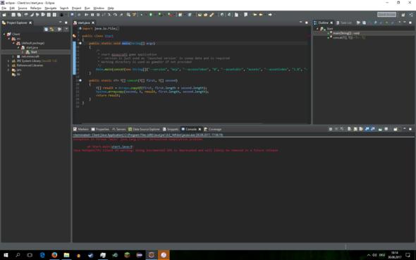 ECLIPSE ERROR +  - (Java, Error, Eclipse)