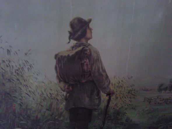 Auf Wanderschaft - (Menschen, Natur, Philosophie)