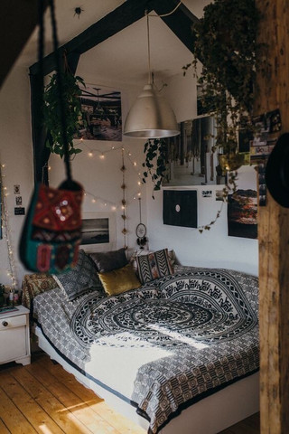 Zimmer gestalten tumblrstyle style tumblr raumgestaltung - Bohemian urban fusion living room ...