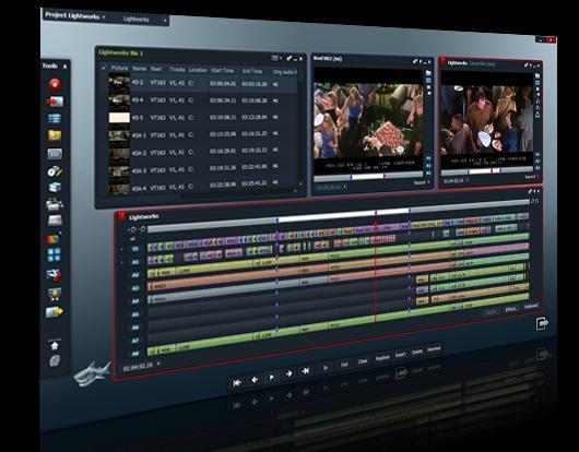 Lightworks 4 - (Videobearbeitung, Windows Movie Maker)
