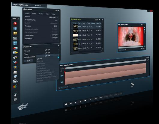 Lightworks 5 - (Videobearbeitung, Windows Movie Maker)