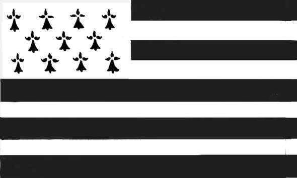 Gwen ha Du, die bretonische Flagge - (Küche, Styling, Einrichtung)