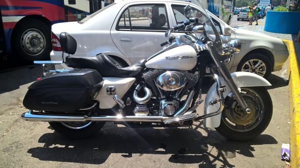 Es gibt auch alte Harleys aus den 50ern auf Kuba - (Ratgeber, AuslandReisenUrlaub, AutosKfzOldtimer)