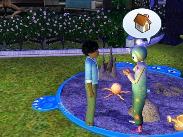 imaginäre Freund - (Sims 3, Sims3)