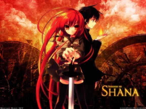 Shakugan no Shana - (Anime, Action, Romantik)