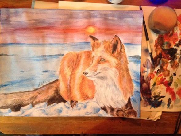 Fox - (Schule, zeichnen, Fachabitur)