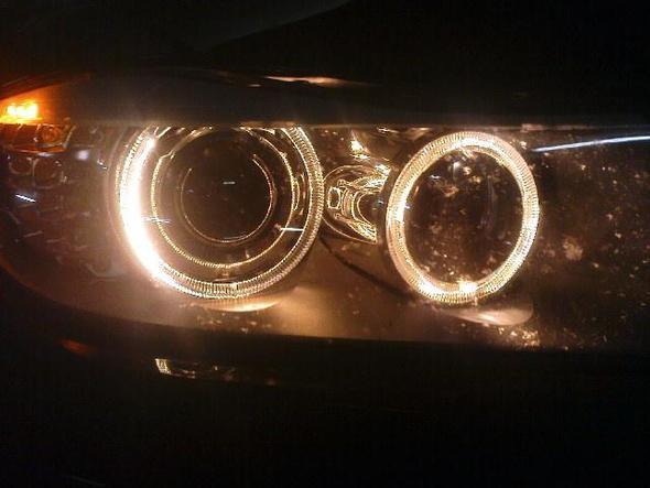 unser BMW... standlicht. - (Auto, Autokauf)