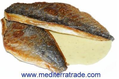 Doradenfilet auf der Haut gebraten - (Kochen, Fische)