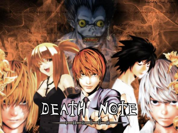 Death Note - (Anime, Serie)