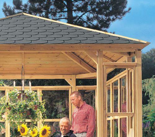 holz berdachung bauen heimwerken heimwerker dach. Black Bedroom Furniture Sets. Home Design Ideas