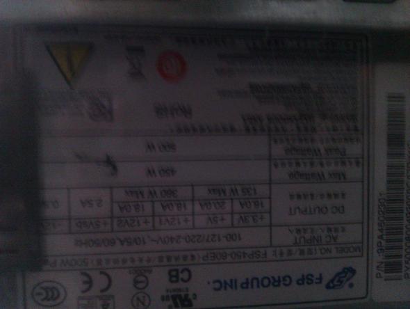 -1- - (Grafikkarte, Netzteil, Radeon 6950)