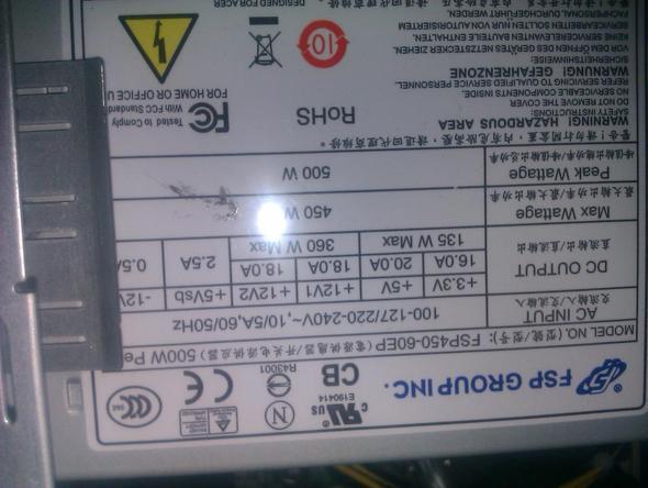 -2- - (Grafikkarte, Netzteil, Radeon 6950)